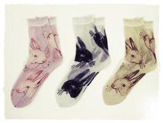 I want rabbit socks