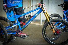 PIT BITS - Jack Reading's Nicolai Geometron DH Bike - PIT BITS - Lenzerheide World Cup - Mountain Biking Pictures - Vital MTB