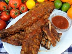 Oven Baked Barbecue Baby Back Ribs from Emeril's appearance on @Good Morning America