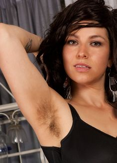 Hirsute woman Hairy natural