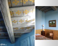Detay on pinterest vignettes home tours and shabby - Plafond a la francaise ...