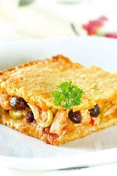 Polvorosa de pollo ~ this Mexican dish is delicious! Latin American Food, Latin Food, Quiches, Venezuelan Food, Venezuelan Recipes, Spanish Dishes, Comida Latina, Dessert For Dinner, I Foods