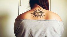 #tatuaje #tattoo #tatto #sun #sol #girl #espalda