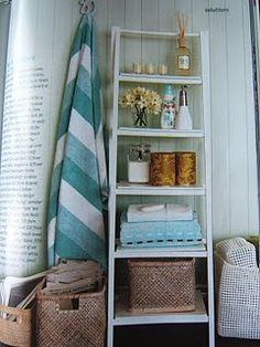 Bathroom Decor Ideas Nz ladder storage unit | freedom furniture and homewares ($79.00