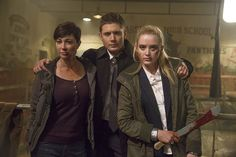 Supernatural ‏@cw_spn    The Winchesters roll into town NOW on a new #Supernatural! @JensenAckles @kimrhodes4real @KathrynLNewton