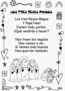 Poema de los tres Reyes Magos y Papa Noel