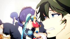 MUSAIGEN NO PHANTOM WORLD Musaigen No Phantom World, Manga Anime, Anime Art, Kyoto Animation, Geek Out, Old Pictures, Anime Characters, Fan Art, Cartoon