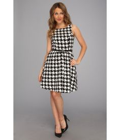 super cute houndstooth dress