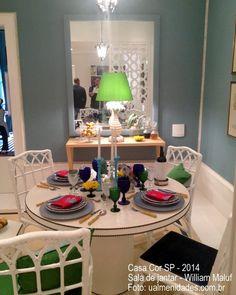 Casa Cor SP: sala de jantar - William Maluf