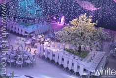 Blossom trees themed wedding in Qatar 24-12-2012 by White +961 3 889923