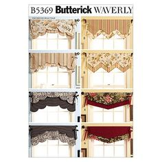Fast & Easy Reversible Valances-All Sizes in One Envelope Patternnull at Joann Fabric $10.17