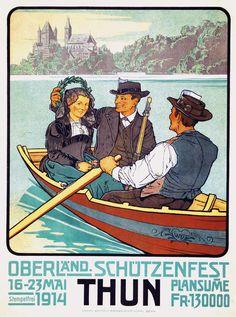 Thun Schutzenfest 1914 Wyss