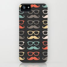 Mustache Life  iPhone Case by @Lilach Oren - $35.00