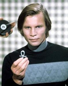 Michael York from Logan's Run - I've always thought he was so handsome and sexy.