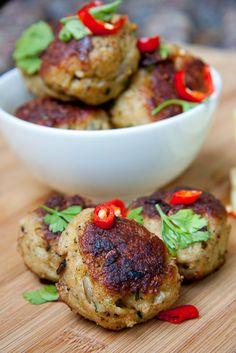 Chili-Chicken meatball