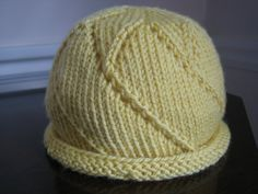 I'm Knitting As Fast As I Can: Star of the Day Hat, baby hat, free pattern