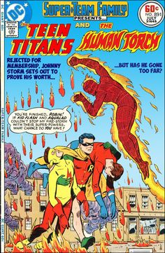 Super-Team Family: The Lost Issues!: Teen Titans and The Human Torch