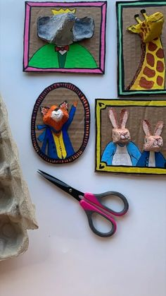 Arts And Crafts, Paper Crafts, Fun Crafts, Crafts For Kids, Plastic Fou, Recycled Art Projects, Egg Carton Crafts, Egg Cartons, School Art Projects