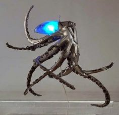 MUST SEE: 20 Mind Blowing Sculptures Made from Old Car Parts.