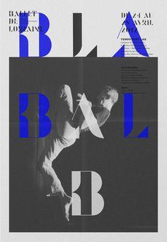 ©les graphiquants - CCN Ballet de Lorraine - #graphic #design #dance #layout #affiche #poster #BalletdeLorraine #CCN