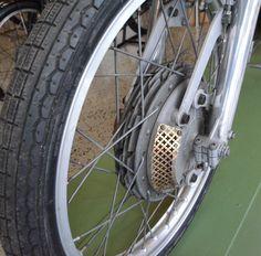 Derbi 50cc. 1973 'Carreras Cliente'. Replica Angel Nieto. 4 leading shoe front brake system.