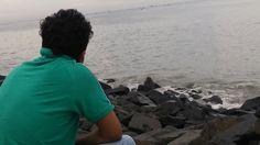 Enjoying in Pondy....