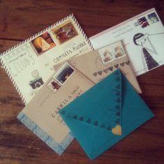 I want to start decorating my envelopes.