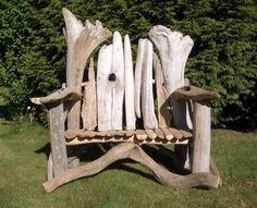 4 the love of wood: BENCHES - driftwood