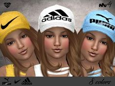 Sims 4 updates: tsr - accessories, headwear : mp sporty caps for kids by ma The Sims 4 Kids, Sims 4 Children, Sims 4 Cc Skin, Sims 4 Mm Cc, Cc Hats, Kids Hats, Toddler Hair Sims 4, Sims 4 Cc Kids Clothing, Sims 4 Cc Shoes
