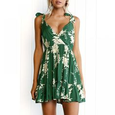 summer dresses 2019 New Arrival fashion sexy strapless Holiday Floral Leaves Print V Neck Backless Mini Dress vestidos women summer dresses 2019 New Arrival fashion sexy strapless Holiday Floral Leaves Print V Neck Backless Mini Dress vestidos Price: Short Beach Dresses, Summer Dresses For Women, Mini Dresses, Skater Dresses, Dress Summer, Summer Beach Dresses, Summer Casual Dresses, Sundresses Women, Summer Sundresses