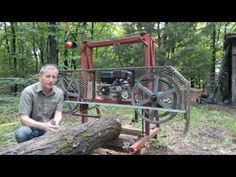 Bandsaw Mill 4 - Getting the best speed - YouTube