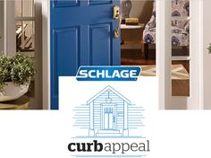 Enter the Schlage Curb Appeal Contest for a chance to win a House of Schlage Locks and a $5,000 Gift Card!