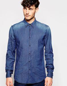 Antony Morato #Camisa #Jeans #Social #Minimalista  #FocusonJeans® #indigos #FocusTextil