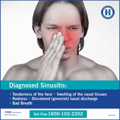 Dealing with sinusitis? Here are the few symptoms to identify are you really affected with ‪sinus‬ or not. If yes, Take a step today to fight against ‪sinusitis‬.