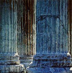 Temple of Hadrian - Athens, Greece (Eliot Porter)