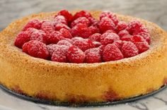 Raspberry Almond Cake from French Toast, Cheesecake, Salad, and 20 Other Recipes to Make With Berries