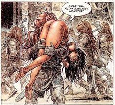 Druuna Comic Series - The Infamous Goddess of Erotic Illustration Comic Book Layout, Comic Books Art, Cartoon Body, Serpieri, Horror Artwork, Bd Comics, Fantasy Women, Renaissance Art, Erotic Art