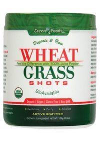 Wheat Grass Shots 30 Servings by Green Foods - Buy Wheat Grass Shots 30 Servings 150 Powder at the Vitamin Shoppe  #vitaminshoppe #greenforgreen