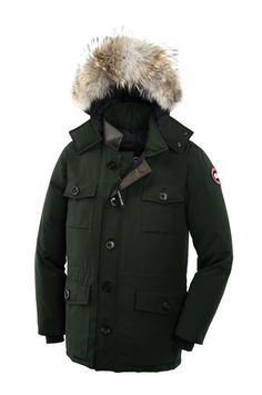 Canada Goose Men's New Style Expedition Parka Blue