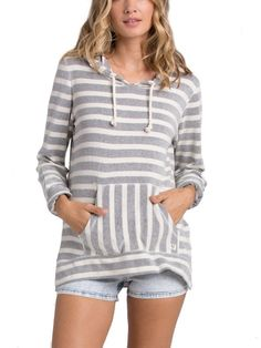 Say Now V-Neck Hoodie for women by Billabong