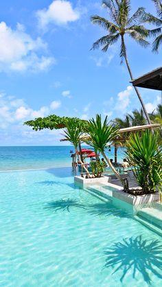 Coastal Retreat Destinations  Serafini Amelia  Poolside pedicures are a must #Thailand