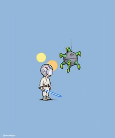 Cinco de Mayo is the day after Star Wars Day ... coincidence? I think not!  ;)