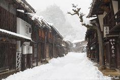 Tsumago-Juku, Japan Nagano Prefecture