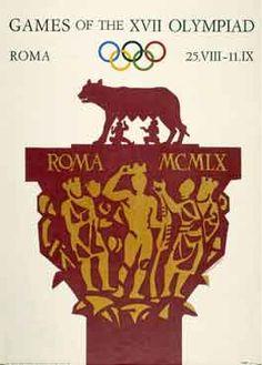 in so many words...Olympics - Rome 1960 - Design: Armando Testa