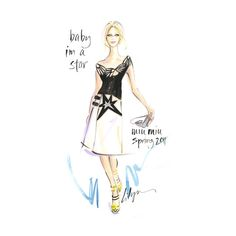 Rock the Runway ❤ liked on Polyvore featuring fashion illustration, sketch, fashion sketch, girls, doodle and scribble