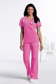 Urbane Performance - 9037 ELEVATE Tunic in COTTON CANDY #Urbane #Scrubs #Medical #Fashion #Uniforms #Nurse #Nursing #Healthcare #Hospital #Doctor #CNA #Vet #Tech #Dental #Hygiene #October #BCA #Pink #Cotton #Candy