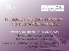 bo6-de-antoniodestefano-administrators by Academy of Oncology Nurse Navigators, Inc. via Slideshare