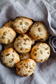 Seeded Cheddar Brazilian Cheese Bread - Snixy Kitchen