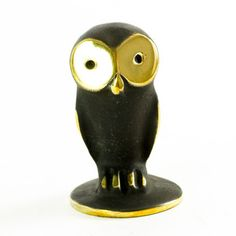 Owl Figurine now featured on Fab.