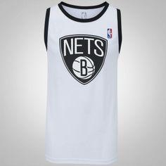 f495eca017 Camiseta Regata NBA Brooklyn Nets 17 First - Masculina